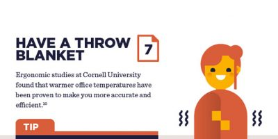 12 Office Desk Hacks To Improve Productivity [Infographic]