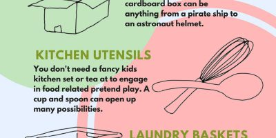 6 Items That Encourage Creative Play for Kids [Infographic]