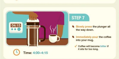 French Press Coffee Guide [Infographic]