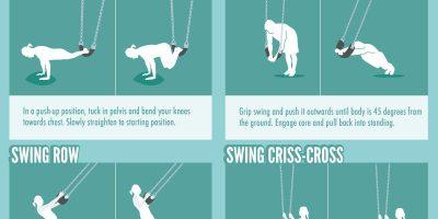 20 Playground Full-Body Exercises [Infographic]