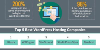 Best WordPress Hosting Providers Infographic