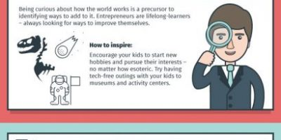 8 Entrepreneurial Skills To Teach Kids [Infographic]