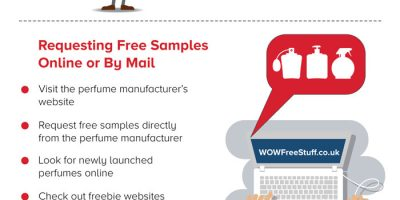 Tips For Getting Free Perfume [Infographic]