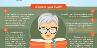 14 Ways Reading Improves You [Infographic]