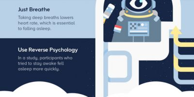 How to Fall Asleep Fast: 20 Tips [Infographic]