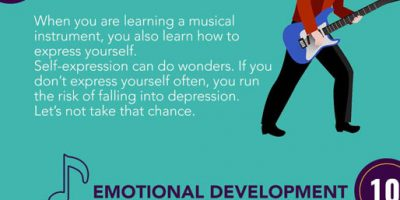21 Benefits of Learning a Musical Instrument [Infographic]