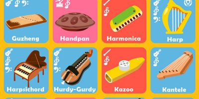 100 Musical Instruments: A Guide
