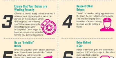 Infographic: How to Avoid Speeding Tickets
