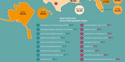 Which State Is the Most Physically Active [Infographic]