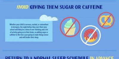 School Night Sleep Hacks [Infographic]
