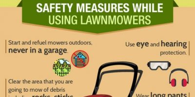Lawn Mower Safety Tips [Infographic]