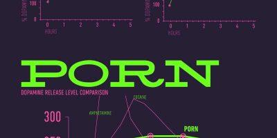 Porn Addiction & Dopamine [Infographic]