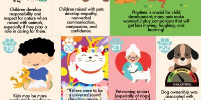 40 Benefits of Having a Pet [Infographic]