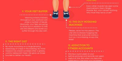 13 Struggles of Gym Life [Infographic]