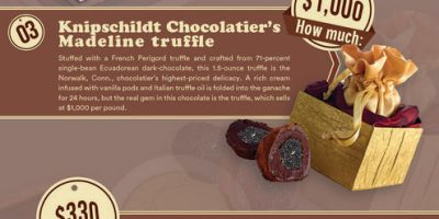 Most Expensive Chocolates You Can Buy [Infographic]
