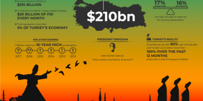 What Really Happened to the Turkish Lira: Infographic