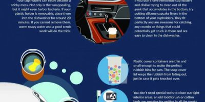 16 Car Cleaning Hacks [Infographic]