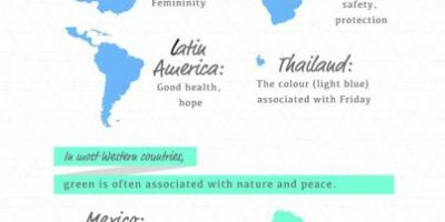 Which Colors Mean Different Things In Other Cultures [Infographic]
