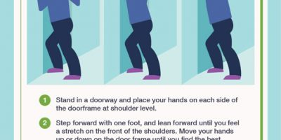 Stretches for Office Workers [Infographic]