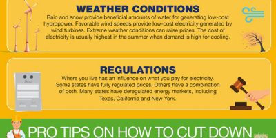 What Affects Your Electricity Price? [Infographic]