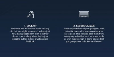 Infographic: How To Secure Your Home – 8 Key Home Security Tips