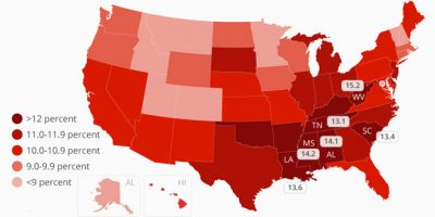 Where Diabetes is Most Prevalent in the U.S.