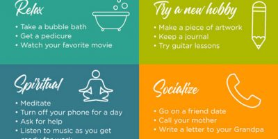 27 Self Care Tips [Infographic]
