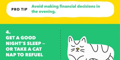 8 Tips to Avoid Decision Fatigue [Infographic]