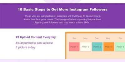 How to Get More Instagram Followers In 2019 [Infographic]