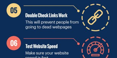 Tips For Launching a New Website [Infographic]