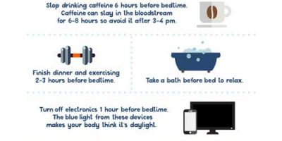 Bedtime Routine Hacks [Infographic]