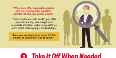 How to Keep Your Wedding Ring in Good Condition [Infographic]