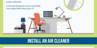 5 Ways To Keep Your Home's Air Clean [Infographic]