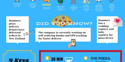 Domino's: King of Pizza [Infographic]