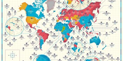 The Oldest Company In Every Country [Infographic]