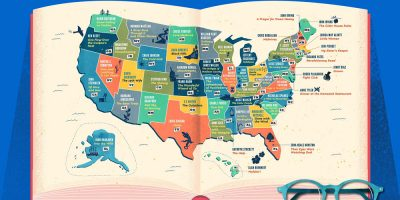 Most Popular Books Set In Every State
