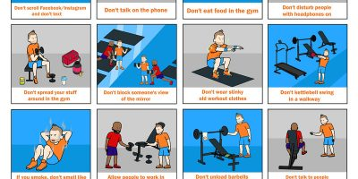 40 Gym Rules You Should Know [Infographic]