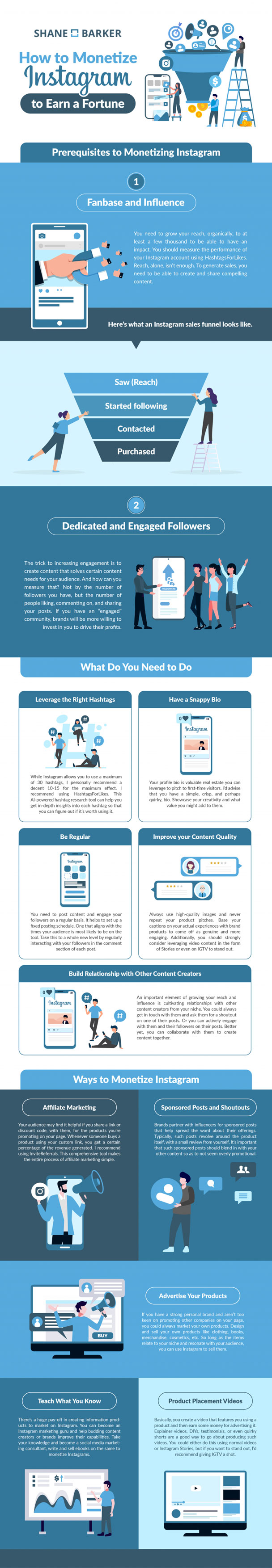 Social Media Tips: How to Monetize Your Instagram Account and Earn Money [Infographic]
