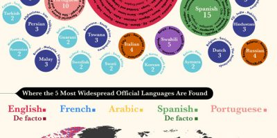 The Most Popular Languages of the World [Infographic]