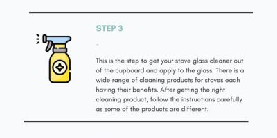 How to Clean Your Stove Glass [Infographic]