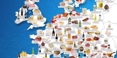 The Best European Food Products [Infographic]