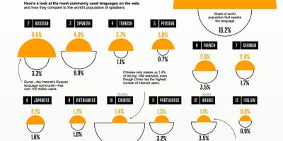 Most Commonly Used Languages on the Internet