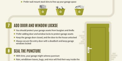 How to Organize Your Metal Garage [Infographic]