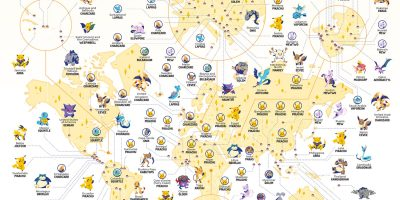 The Most Popular Pokemon Around the World