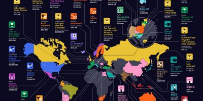 Every Country's Highest Earning Podcast [Infographic]