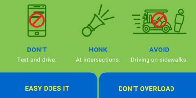 Golf Cart Safety Tips [Infographic]