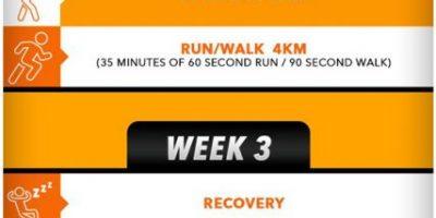 30-Day Running Challenge Infographic