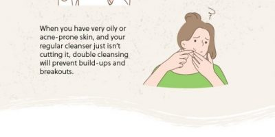 Double Cleansing: How to Wash Your Face Like a Pro [Infographic]