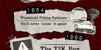 7 Anticlimactic Examples Of Mass Hysteria [Infographic]