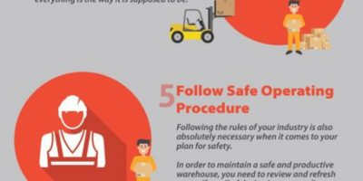 10 Tips to Improve Warehouse Safety [Infographic]